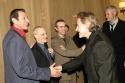 Harvey Keitel greeting Jeff Goldblum  Photo