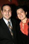 Joe Trentacosta and Michelle Moretta (Springer Associates PR)  Photo