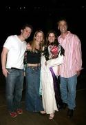 Laura and co-stars Matthew Morrison, Kelli O'Hara and Beau Gravitte