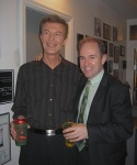 Musical Director Robert Ollis and Composer Stephen Flaherty