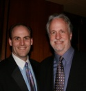 Scott Galbraith, executive producer, and David Fay, president and CEO
