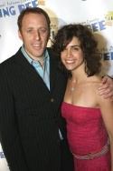 "Rebecca Feldman & fiancé Jay Reiss (""Douglas Panch"")"
