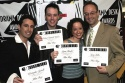 Altar Boyz: Christopher Gattelli, Michael Patrick Walker, Lynne Shankel, and Gary Adler