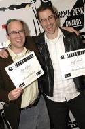 All Wear Bowlers: Trey Lyford, and Geoff Sobelle