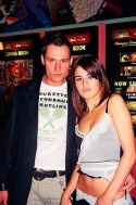 Keith Collins (- Event Planner) and Natasha Komis