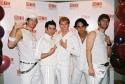 """Altar Boyz"", Andy Karl, David Josefsberg, Tyler Maynard, Ryan Duncan and Scott Porte Photo"