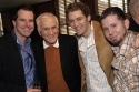 Johnathan Dokuchitz, Dick Latessa, Matthew Morrison, and Justin Brosnan (FUSE Television)