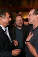Joe Mantegna, Ricky Jay and Ed O'Neill