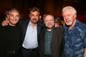 Robert Forster, Joe Mantegna, Ricky Jay and J.J. Johnston Photo