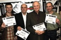 Frederick Weller, Jeffrey Tambor, Alan Alda and Jordan Lage  Photo