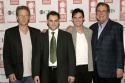 The Pillowman: Robert Fox (Producer), Michael Stuhlbarg, Billy Crudup, and Bob Boyett (Producer)