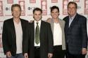The Pillowman: Robert Fox (Producer), Michael Stuhlbarg, Billy Crudup, and Bob Boyett (Producer)