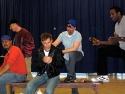 The men in the company, Erick Pinnick (Dean Webber), Michael Rupert (Alan), Chad Kimb Photo