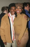 Sheryl Lee Ralph (Margo Channing) and her son Etienne Photo