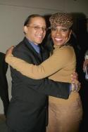 Sheryl Lee Ralph and her fiancee, Senator Hughes Photo