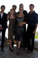 Dominic Cooper, Colin Firth,Amanda Seyfried, Stellan Skarsgard, Meryl Streep and Pier Photo