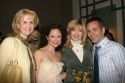 Tracy Powell, Jean Louisa Kelly, and Sharon Lawrence with one very lucky fellow Photo