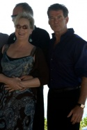 Meryl Streep and Pierce Brosnan Photo