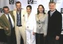 Doubt: Doug Hughes, Brían F. O'Byrne, Heather Goldenhersh, Cherry Jones, and John  Photo