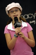 One of the five finalists, 10 year old Lindsay Maron