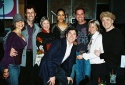 Rosie Perez, Tony Kushner, Brenda Freiberg (Trevor Project, Board Chair) Sarah Jones, James Lecesne, Jorge Valencia, Peggy Rajski (Trevor Project, Co-founder, Board Member) and Charles Busch