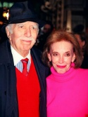 Helen Gurley Brown and husband, Hollywood-Producer David Brown