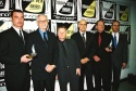 "The Cast of ""Glengarry Glen Ross"" Liev Schreiber, Alan Alda, Gordon Clapp, Jeffrey T Photo"