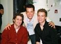 Matt Morrison, John Tartaglia and Barrett Foa Photo