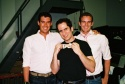 Brian Farley, Seth Rudetsky (Musical Director) and Ted Farley