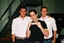 Brian Farley, Seth Rudetsky (Musical Director) and Ted Farley
