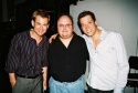 Chad Kimball, Kerry Meads (Drummer) and John Tartaglia