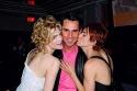 Thea Gill, Bill Kapfer (Harper's Bazaar Magazine) and Michelle Clunie