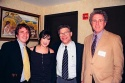 Barry Scheck, Esq., Michelle Branch, Al Franken and Peter Neufeld, Esq.