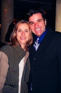 """Meredith Vieira (Star of ABC's """"The View"""") and Dale Badway (Tony's Dinapoli - Produc Photo"""