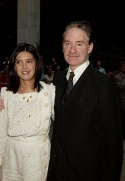 Kevin Kline with his wife Phoebe Cates