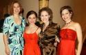 """Elizabeth Dowling (ensemble), Megan Long (""""Esther""""), Andrea Prestinario (ensemble) and Cara Salerno (ensemble)"""