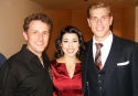 "Kevin Barthel (ensemble), Erin Thompson (ensemble) and Brandon Dahlquist (""Warren"")  Photo"