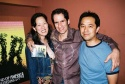 "Mary Ann Hu, Seth Rudetsky (Musical Director for the ""Actors' Fund's HAIR Benefit Concert"") and Aaron Dai"