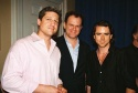 "Recipient of the ""Special Civil Rights Award,"" Christopher Sieber, Presenter John C. Reilly and Christian Campbell"