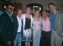 Bernard Dotson, Jack Noseworthy, Cady Huffman, Kelli O'Hara, Jim Jones (Kerry Staffer) and Christopher Denney