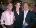 Jim Jones, Nina Goldman and Jack Noseworthy