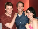Bare Reunion! Michael Arden (currently in Swimming In The Shallows) and Natalie Joy Johnson