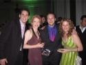 Barrett, Kathy Senten (understudy Madame Morrible), Colin (Music Dir.), and Anna Photo