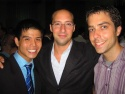 Telly Leung, Tony Hale of ARRESTED DEVELOPEMENT, and James Babcock