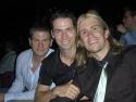 Avenue Q's Leo Daignault, La Cage's Clark Johnsen, Gavin Creel in the Stardust Theatr Photo