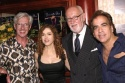 Marvin Laird, Bernadette Peters, Bruce Lundvall, and