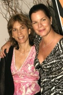 Marcia Gay-Harden with Robin Bronk (The Creative Coalition)