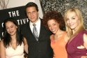 Julie Danao-Salkin, Andrew Cuomo, Marcy Harriell, and Julia Murney