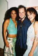 Maya Days (Nona), Jesse Lenat and Caren Lyn Manuel (Skye)