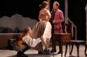 Cherubino (Kathryn Lawson) Susanna (Gillian Wiggin) and Count Almaviva (Ralph Petrarca